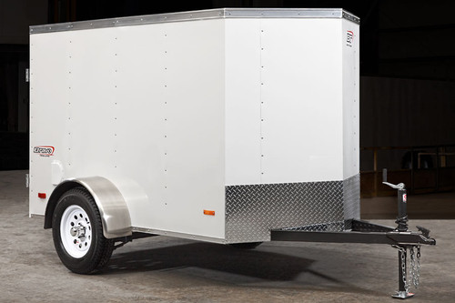 SC58SA --- 5' X 8' Enclosed Trailer with Single Rear Door - Bravo