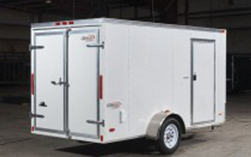 SC610SADGT --- 6' X 10' Enclosed Trailer with Double Rear Doors - Torsion - Bravo
