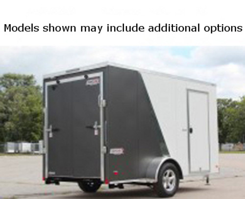SC610SADRDSS --- 6' X 10' Enclosed Trailer with Ramp Door - Torsion - Bravo