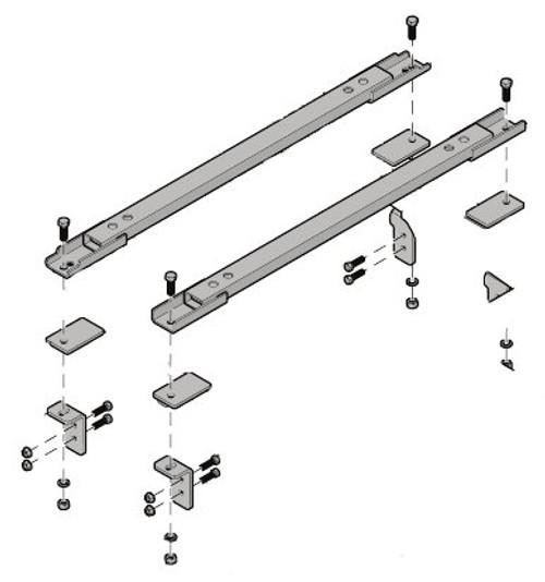 8551008--- Demco Rail Kit - UMS Series