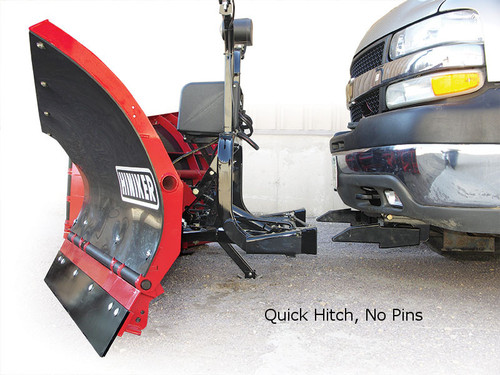 HN752SS --- Hiniker Mid-Size Snow Plow 700 Series - 7.5' - Stainless Steel