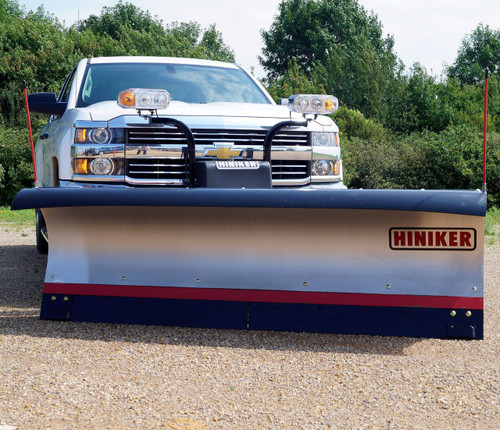 HN7912SS --- Hiniker Conventional Snow Plow 7000 Series - 9' - Stainless Steel