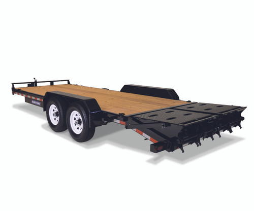 "STIM8120TA5UR --- 81-1/4""x20' Implement Trailer with Universal Ramps"