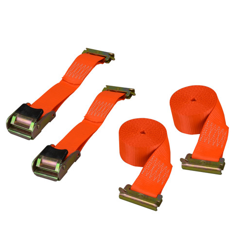 "CS1768 --- E-Track/X-Track Cambuckle Strap 2""x 12' - 2 pack"