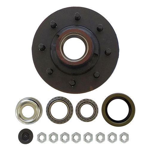 "1-42865EZ --- 8 on 6-1/2"" Hub Assembly - 7,000 lb - Ez Lube"
