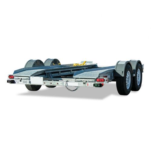 AT7000C --- CROFT Torsion Axle Auto Transport with Surge Disc Brakes
