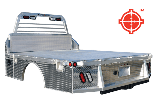 """DS989734CC --- Duramag Aluminum Truck Bed - 9'8"""" X 97"""" - Cab/Chassis"""