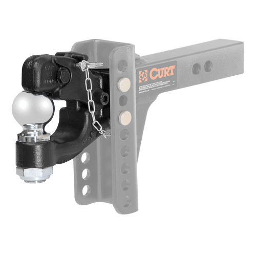 45920 --- Channel Mount Ball & Pintle Combination