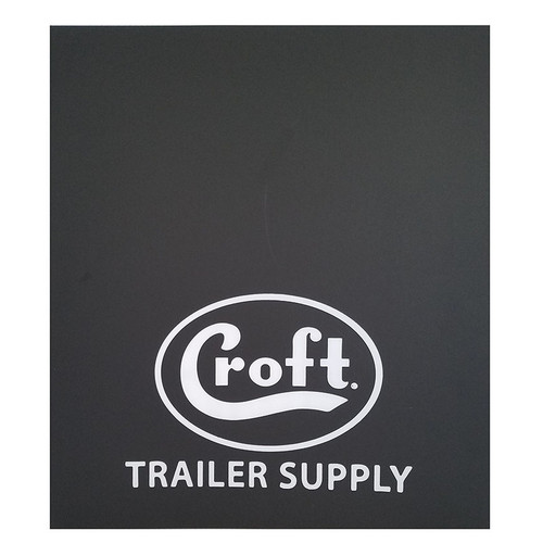 "CMF2034 ---  Croft Mud Flaps - 20"" x 34"""