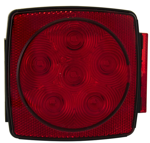 LED440R6 --- Square Combination Sealed Submersible LED Right Tail Light and Side Marker