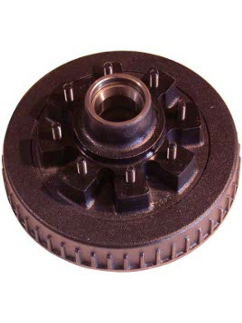 """86542HD --- 8 on 6-1/2"""" Hub and Drum Only - 1/2"""" Studs - 7,000 lb"""