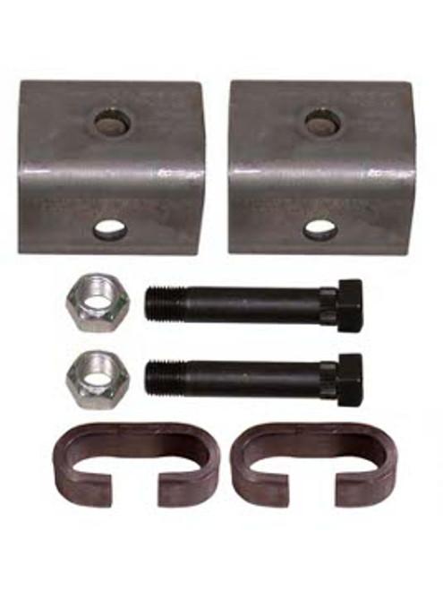 """SHK1 --- Single Axle Hanger Kit for 1-3/4"""" Wide Slipper Spring"""