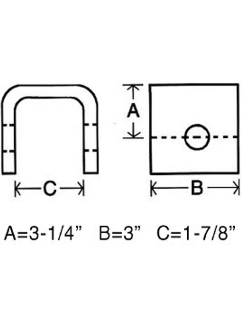 FCR3 --- Front, Center or Rear Hanger