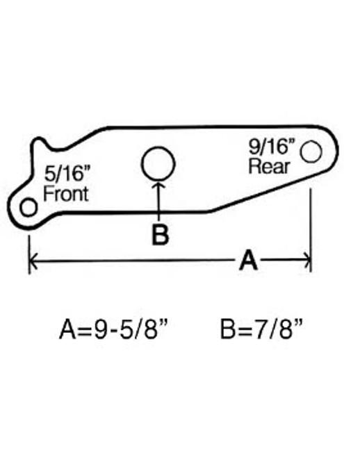 SEB134 --- Equalizer for Slipper Spring -  Standard Duty