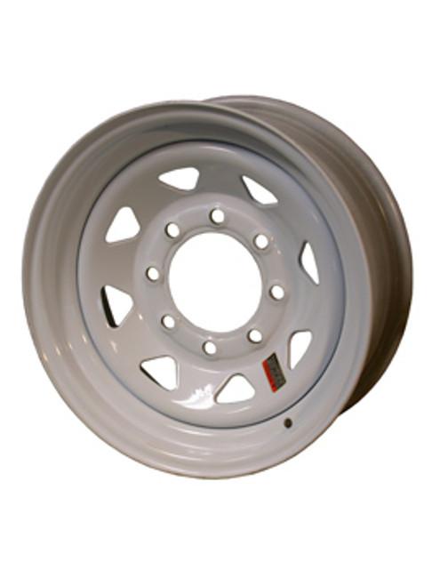 "W16-865WS --- 16"" Trailer Wheel, 8 on 6-1/2"""