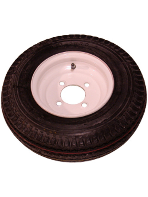 """WT8-4WPD --- 8"""" Trailer Wheel and Tire Assembly, 4 on 4"""""""