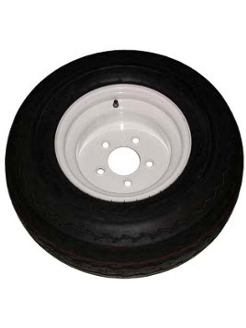 """WT10-5WPD --- 10"""" Trailer Wheel and Tire Assembly, 5 on 4-1/2"""""""