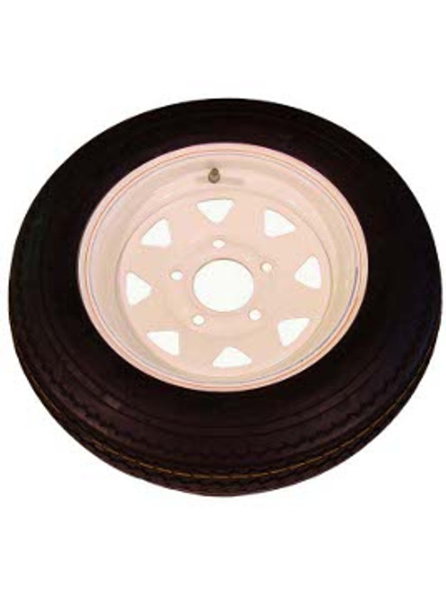 """WT12-5WSD --- 12"""" Trailer Wheel and Tire Assembly, 5 on 4-1/2"""""""