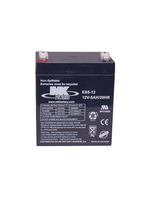 2023 --- 12 Volt Rechargeable Sealed Battery