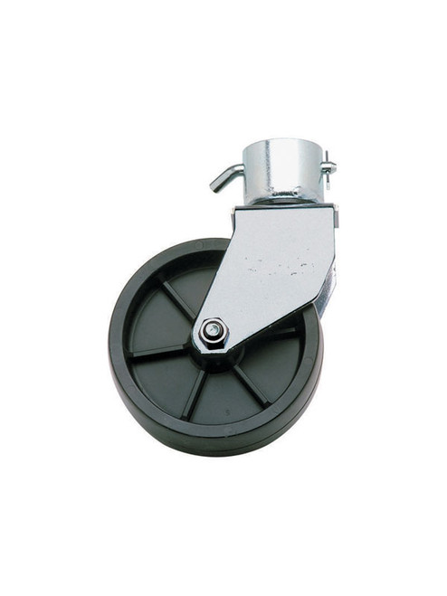 "80552 --- Duraplas Wheel Caster, 6"" x 2"", Fits Jack with 2"" O.D. Inner Tube"