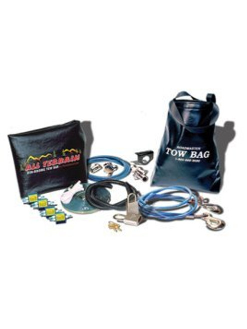 9243-3 --- Roadmaster Combo Kit for Falcon All Terrain and BlackHawk 2 All-Terrain Tow Bars with Straight Wiring & Coiled Cables