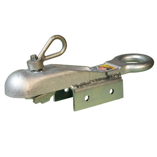 """H3BOS/RING --- CROFT Coupler with N-3 Loop Nut and 2-1/2"""" Ring, Saddle Coupler - 5,000 lb Capacity - 1-7/8 or 2"""""""