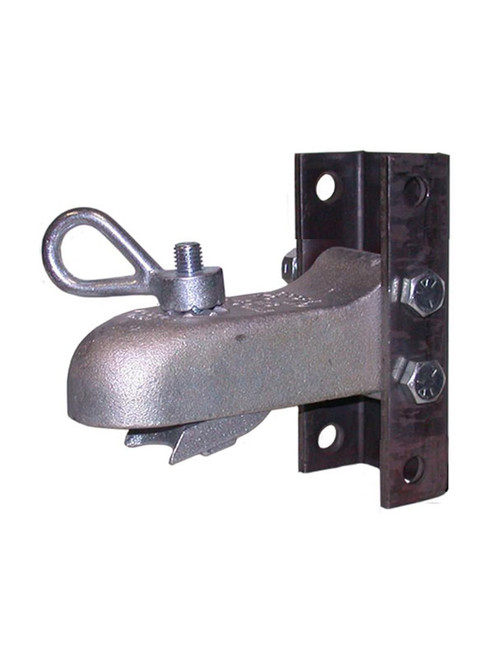 """AH3-ASY --- CROFT Adjustable Coupler with N-3 Loop Nut with 4 Hole Channel - 7,000lb Capacity - 2"""""""