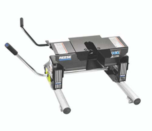 30075 --- Reese 16K Fifth Wheel Hitch with Round Tube Slider