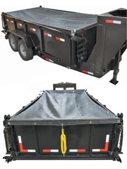 DTTK12 --- 6-1/2' x 15' Dump Trailer Tarp Kit