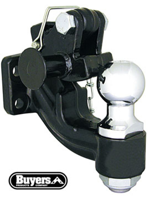 "DPH2516-20K --- Pintle Hook Combination with 2-5/16"" Hitch Ball - 20,000 lb Capacity"