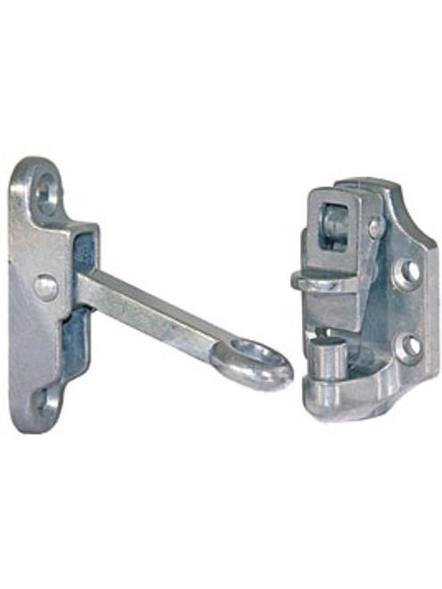 "DH304 --- Hook & Keeper Door Holder 4""- Spring Loaded"