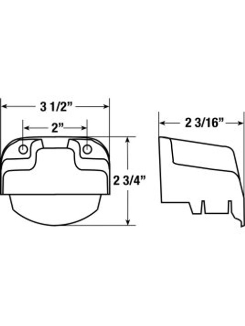 150-141 --- Utility Light Bracket