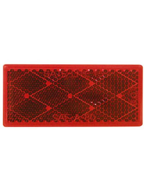483R --- Rectangular Red Reflector - Quick Mount