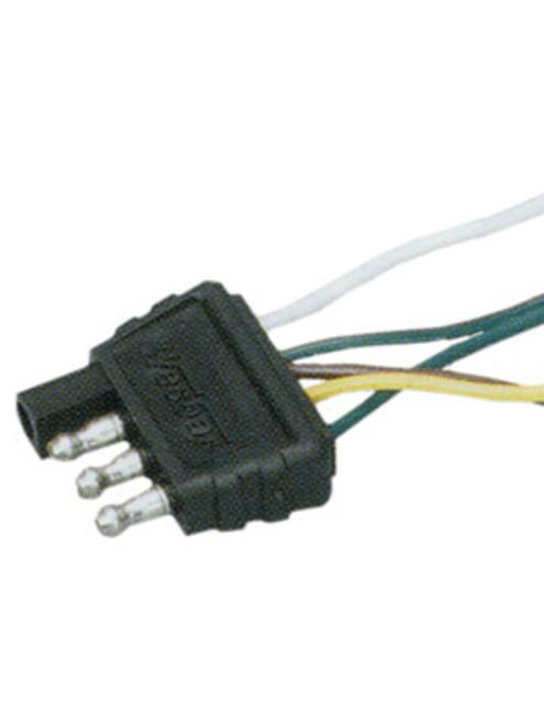 TWH25 --- 4-Flat Trailer Wire Harness - 25'