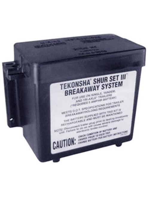 2051 --- Battery Case for 12V Rechargeable Sealed Battery - Bolt On Lockable