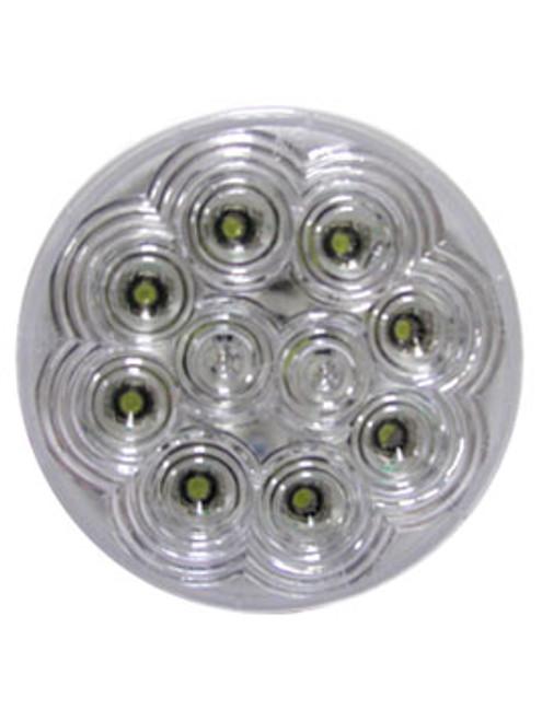 """LED415 --- LED Round 4"""" Utility Light - 10 Diodes"""