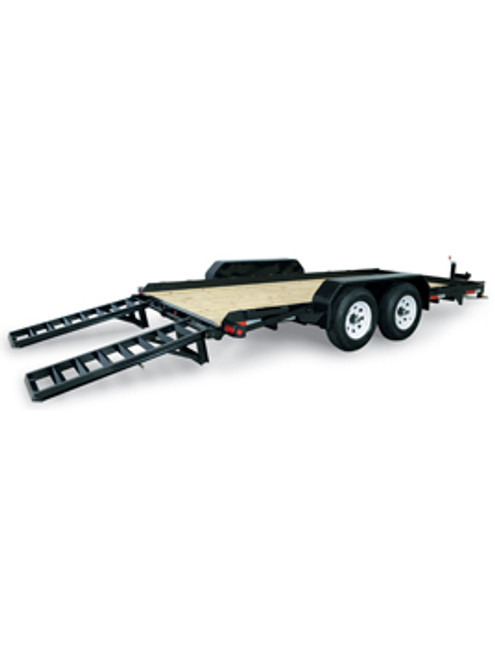 "STSK8016TA5 --- 79"" x 16' Low Profile Skid Steer Trailer"