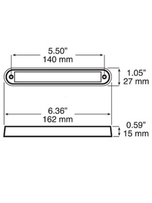 LED388C16 --- LED Interior/Exterior Dome, Utility & Accent Light