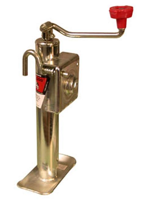 154107 --- BULLDOG Swivel Topwind Trailer Jack - 3,000 lb Capacity