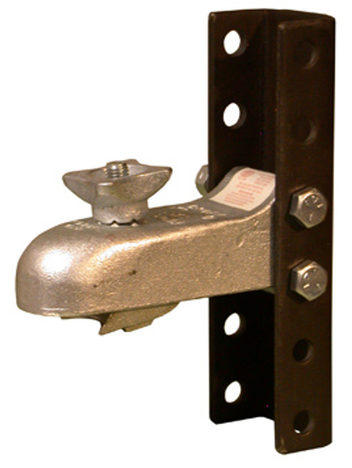 AH3K-6ASY --- CROFT Adjustable Coupler with K-3 Hand Wheel and 6 Hole Channel - 7,000lb Capacity - 2'