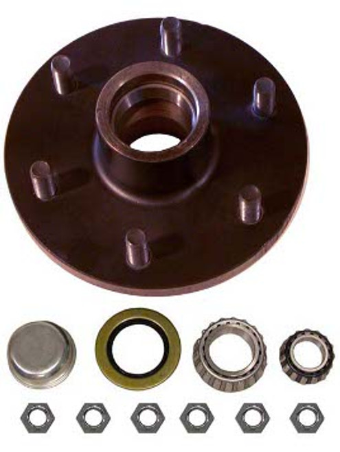 "1-655UHI --- 6 on 5-1/2"" Hub Assembly - 3,500 lb"