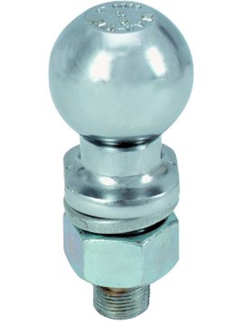"A178 --- 1-7/8"" Hitch Ball, 2,000 lb Capacity, Zinc Finish"