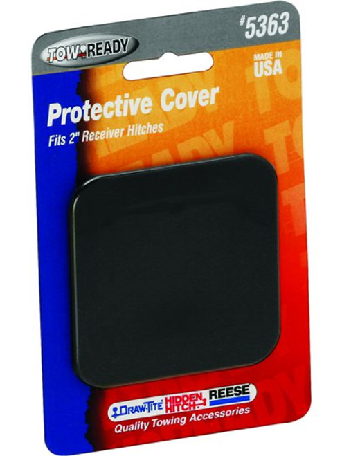 5363 --- Black Plastic Hitch Tube Cover