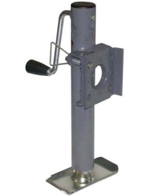 151101 --- BULLDOG Swivel Sidewind Trailer Jack with Disc Foot - 3,000 lb Capacity
