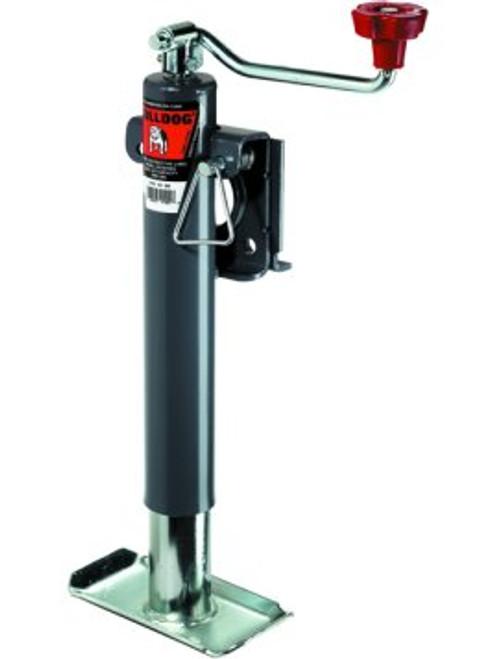 151421 --- BULLDOG Swivel Topwind Trailer Jack with Disc Foot - 3,000 lb Capacity