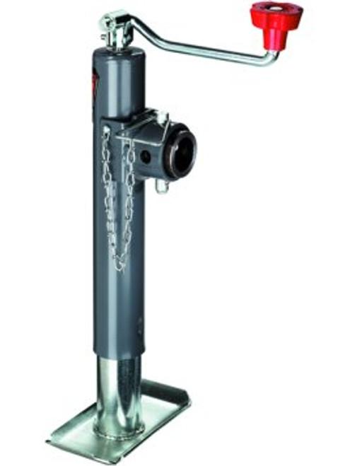 158451 --- BULLDOG Swivel Topwind Trailer Jack with Disc Foot - 3,000 lb Capacity