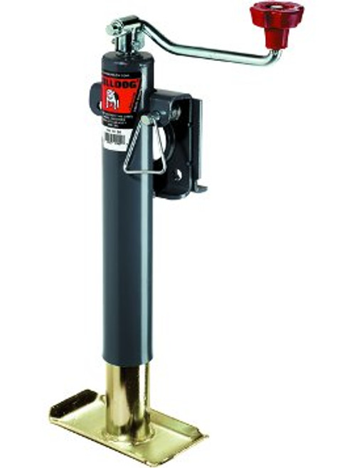 171401 --- BULLDOG Swivel Topwind Trailer Jack with Disc Foot - 7,000 lb Capacity