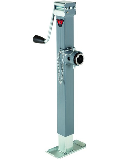 195356 --- BULLDOG Swivel Sidewind Trailer Jack with Disc Foot - 5,000 lb Capacity
