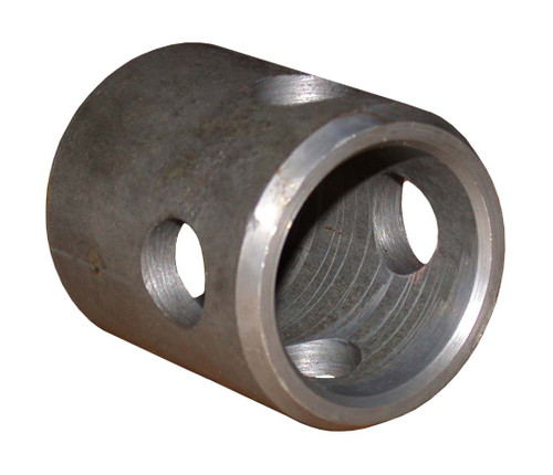 "81271 --- Replacement Round Weld On Mounting Tube - 5/8"" Pin Hole"