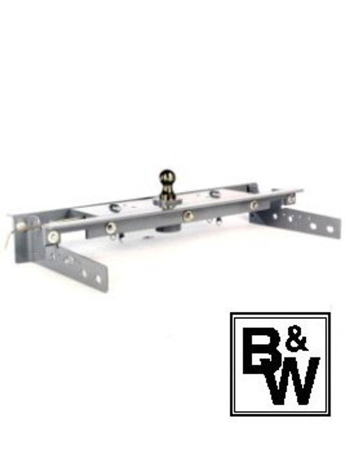 BW1059 --- B&W 30K Underbed Turnover Gooseneck Trailer Hitch - Chevy/GMC